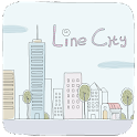 Line City GO Launcher Theme icon