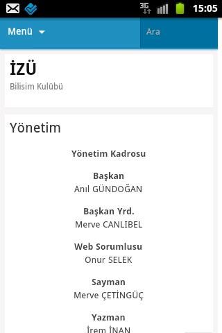 【免費社交App】İZÜ Bilişim Kulübü-APP點子