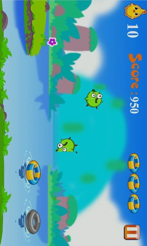 Chick Swimming - screenshot