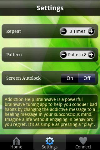 Addiction Help Brainwave- screenshot