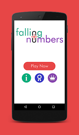 Falling Numbers: Up Your Math