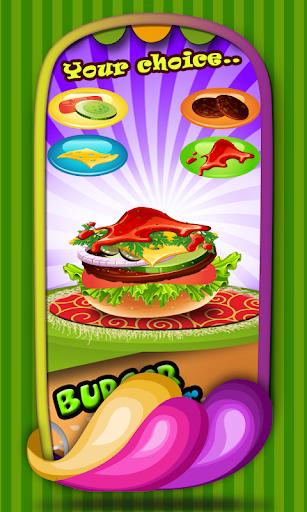 バーガー メーカー - 料理ゲーム