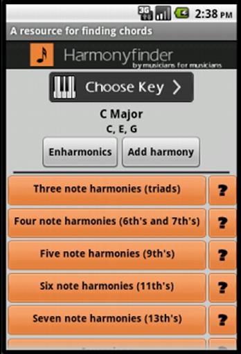 Harmonyfinder