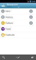 Screenshot of Belfast Travel Guide