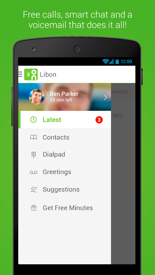 Libon - International calls - screenshot
