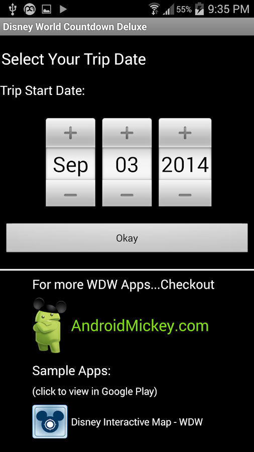 Countdown For Disney World Android Apps On Google Play