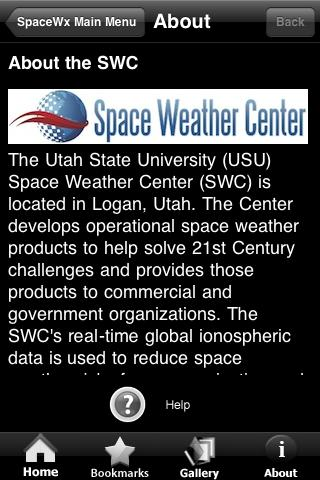 Space WX - screenshot