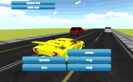 3D Traffic Racer 2