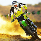 スクランブルレース モトクロス ジグソーパズル icon