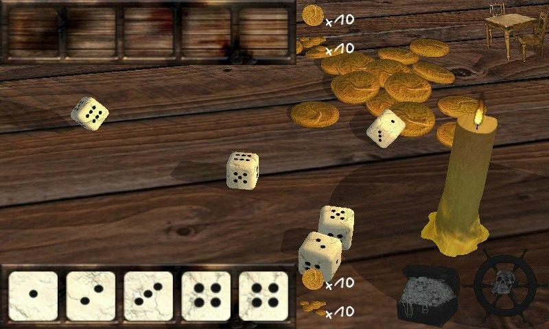 Dice Poker 3D - screenshot
