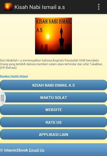 Kisah Nabi Ismail a.s