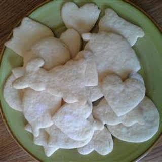 Rolled Sugar Cookies Without Butter Recipes.