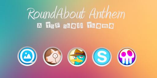 RoundAbout TSF Shell Theme