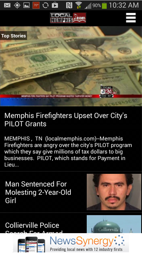 LocalMemphis.com - screenshot