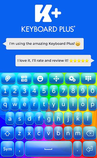 霓虹彩虹键盘主题
