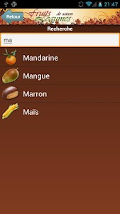 Fruits et Légumes de Saison screenshot 4