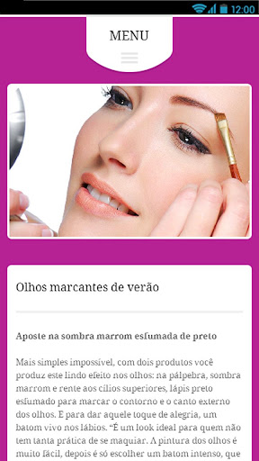 Maquiagem dos Olhos 1.0 screenshots 3
