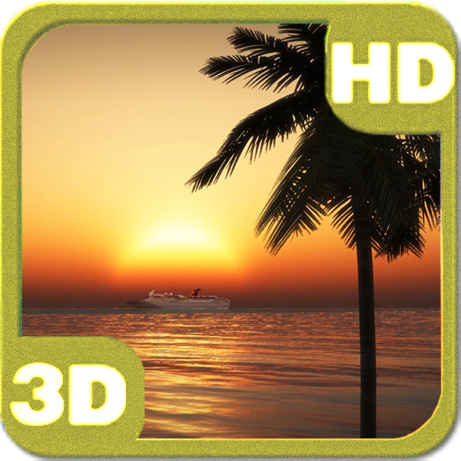 Oceanic Cruise Sunset Ship HD