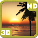 Oceanic Cruise Sunset Ship HD icon