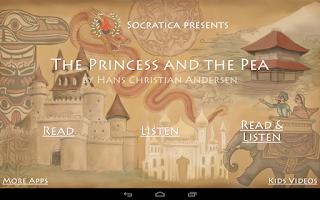 Screenshot of The Princess and the Pea