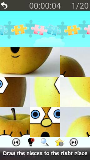 Cute Sponge Puzzle