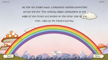 Screenshot of Icky Mr Fox's Rainbow