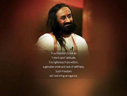 Quotes by Sri Sri- screenshot thumbnail