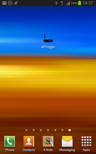 AP Toggle WiFi/HotSpot/Tether 1.6 screenshots 1