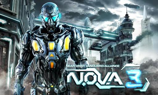 N.O.V.A.3 プレイ画面