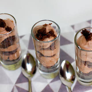 Brownie Chocolate Mousse.