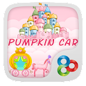 Pumpkin Car GO Launcher Theme