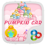 Pumpkin Car GO Launcher Theme v1.0