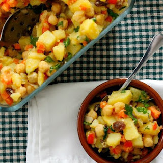Moroccan Potato Salad.
