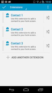DashClock Contact Ext Pro