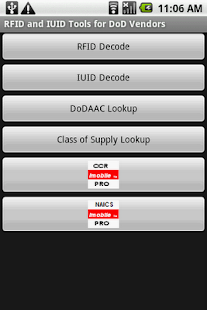 RFID IUID Tools for DoD Vendor - screenshot thumbnail