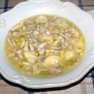 Best Pennsylvania Dutch Chicken Corn Soup.