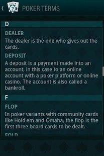 Poker Guide- screenshot thumbnail