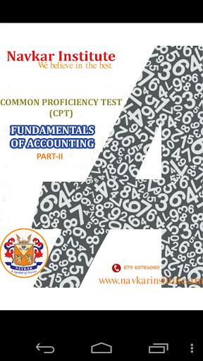 CA CPT Account P-2 e-book