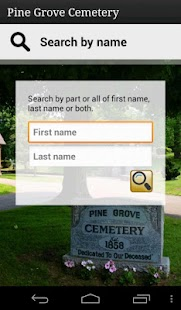 Pine Grove Cemetery- screenshot thumbnail