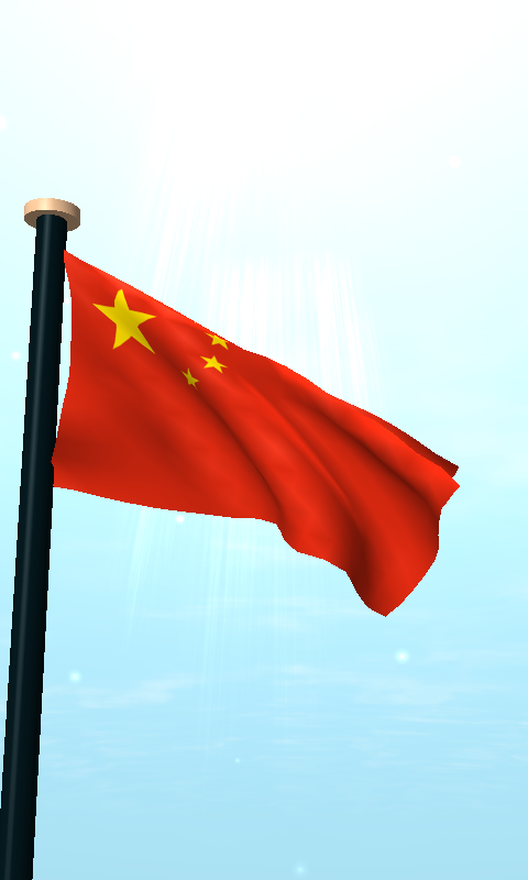 China Flag D Live Wallpaper Android Apps On Google Play - China flag