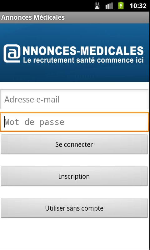 Annonces Médicales - screenshot