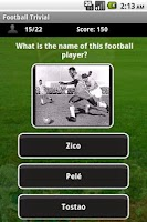 Screenshot of Football Trivia Trial
