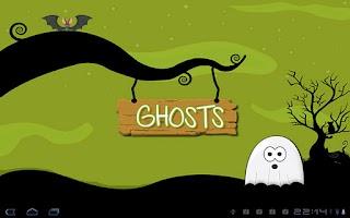 Screenshot of Halloween Memory Game Tablet