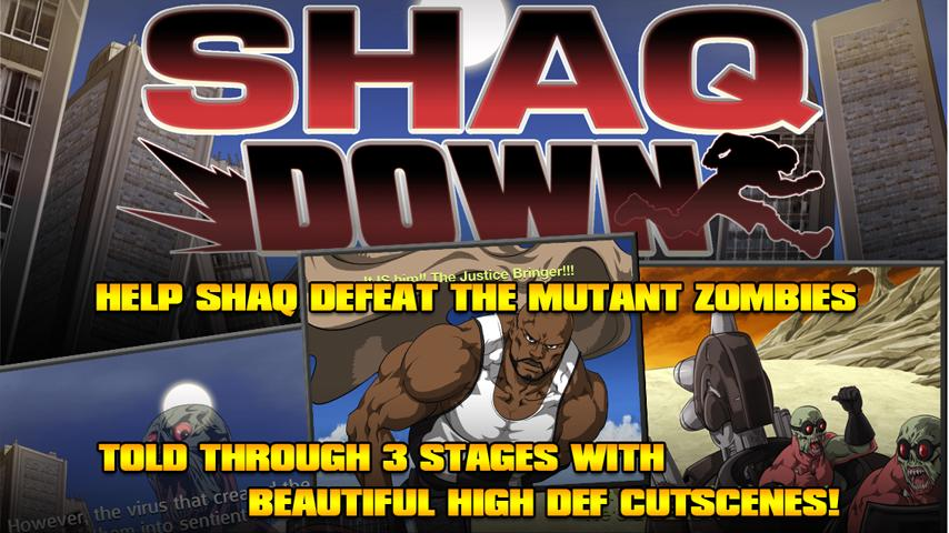 ShaqDown- screenshot