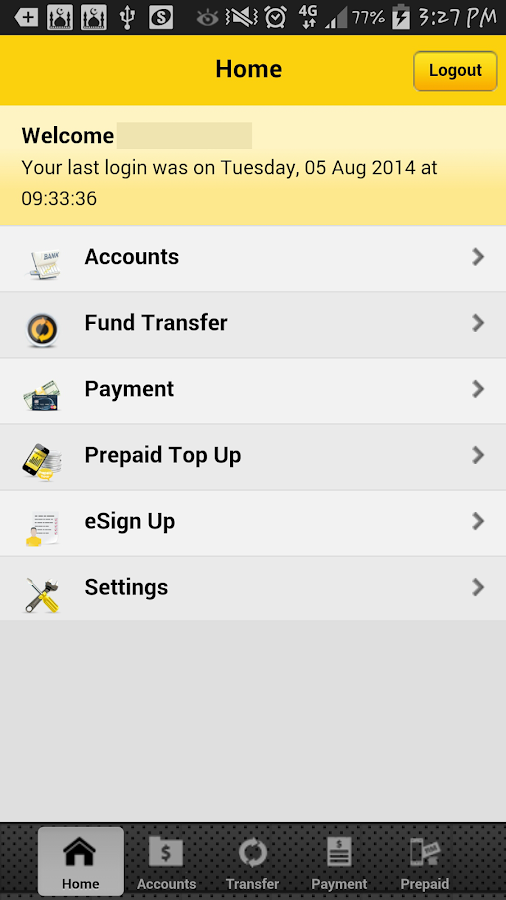 Maybank forex account