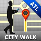 Atlanta Map and Walks icon