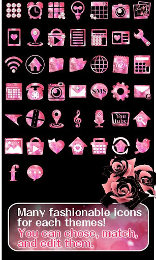 u2605FREE THEMESu2605Roses & Pearls 1.0.2 Windows u7528 4