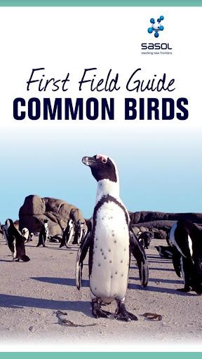 Sasol Field Guide Common Birds