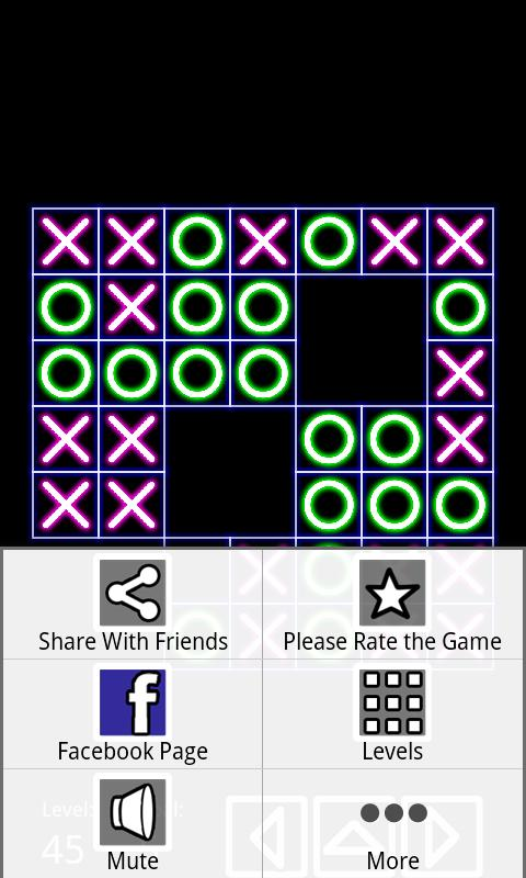 Tic Tac Toe NeO (136 Levels) - screenshot