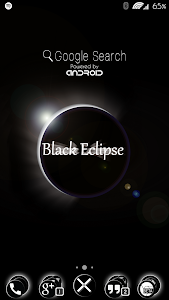 Black Eclipse Launcher Theme v1.2